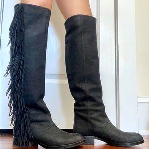 Sam Edelman Josephine Fringe Knee Boots